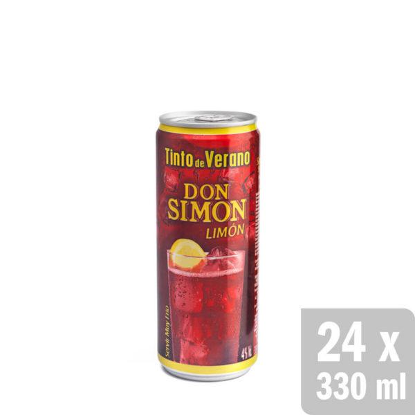 Tinto De Verano Limón El Original Y Auténtico Don Simon