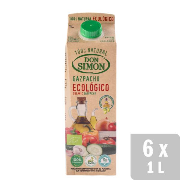 Gazpacho Ecológico Con Hortalizas Frescas online en Don Simon
