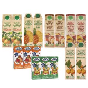 Surtidos Cuidate, combinados Don Simon producto 100% Natural