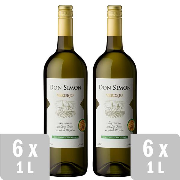 Blanco Verdejo Vino Don Simonpromo 12 Uds X 1l Don Simon