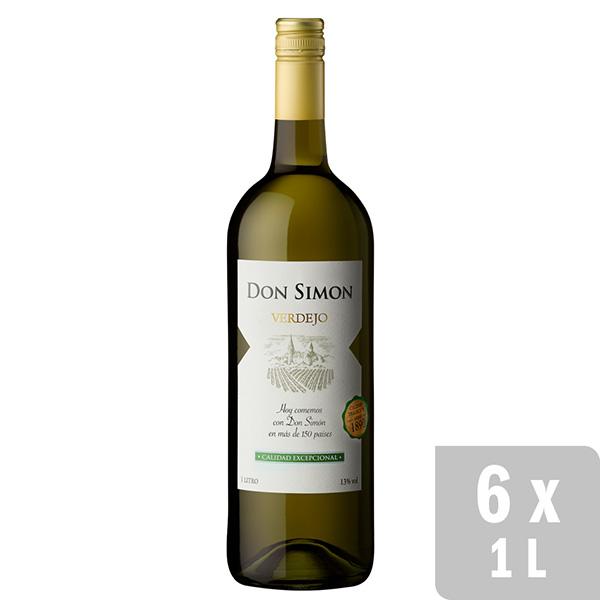 Vino Blanco Verdejo Don Simon 6 Uds X 1l Don Simon
